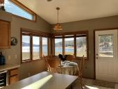 Dining Room with fantastic view at Lakeview house